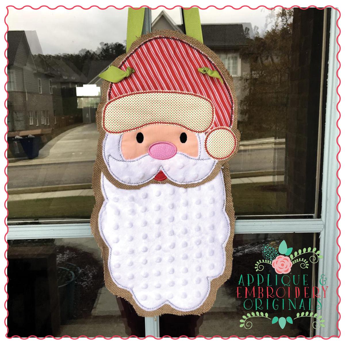 Alabama Santa Claus Christmas Door Hanger Santa Door Hanger Santa Claus Door Hanger Football Santa